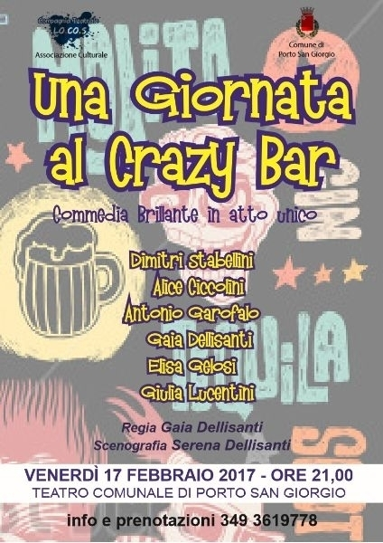 UNA GIORNATA AL CRAZY BAR - 17.02.17